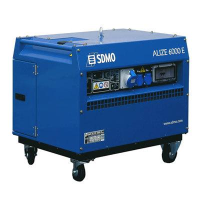 Генератор SDMO ALIZE 6000 E в Заинске