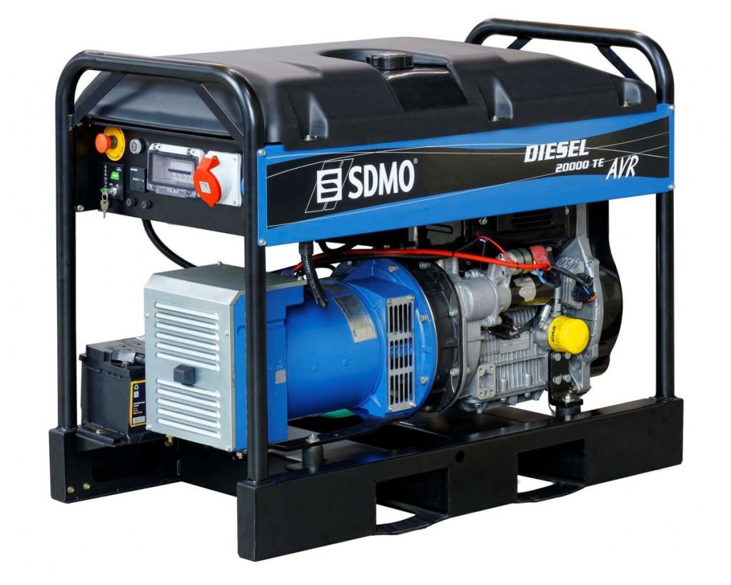 Генератор SDMO DIESEL 20000 TE XL AVR C в Заинске