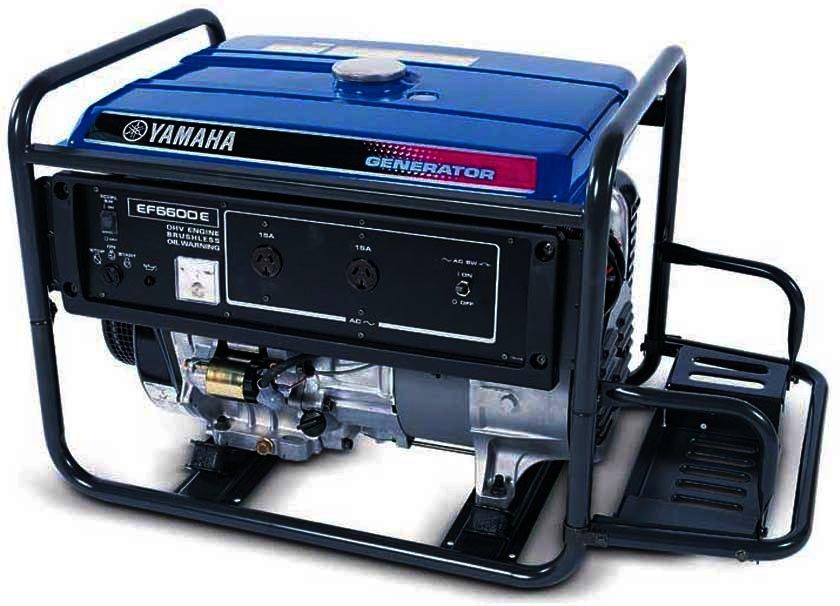 Генератор Yamaha  EF6600E в Заинске