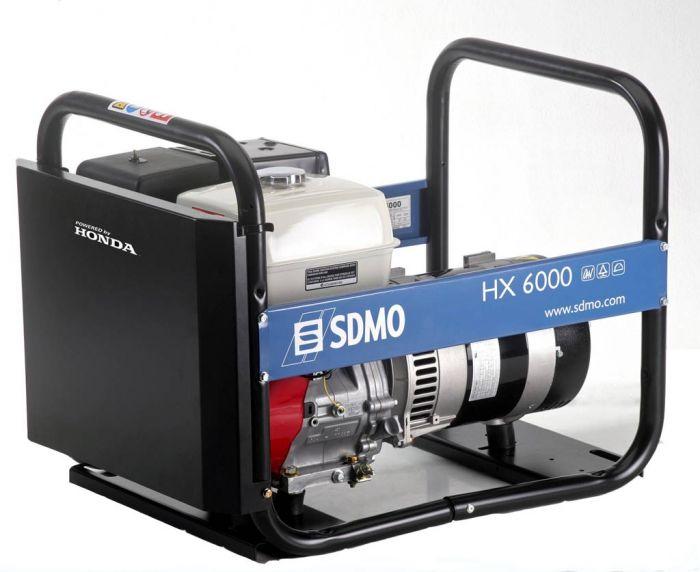 Генератор SDMO HX 6000-S в Заинске