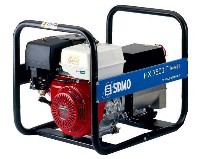 Генератор SDMO HX 7500 T-S в Заинске